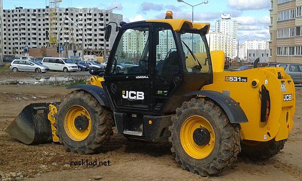 Экскаватор-погрузчик JCB 531-70