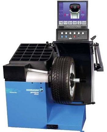Балансировочный станок «Hofmann Geodyna 6800-2p».