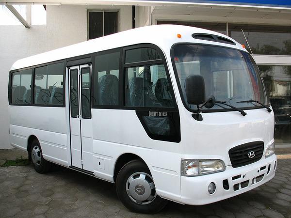 Модельный ряд автобусов Hyundai