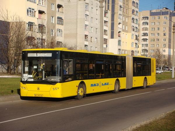 Украинские автобусы