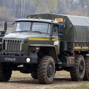 Вахтовый автобус Урал 4320